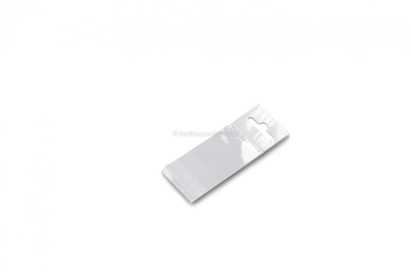 Cellophane bags with euro closure - 40 x 45 mm