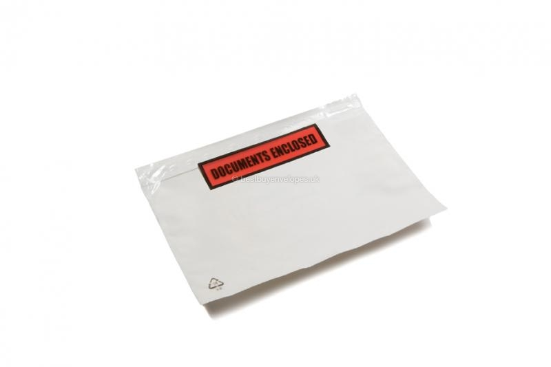 Packing list envelopes with printing - A6