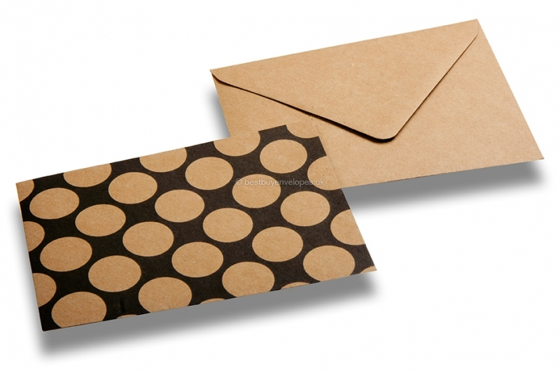 decorative kraft envelopes compilation decorative kraft envelopes dots - Decorative Envelopes