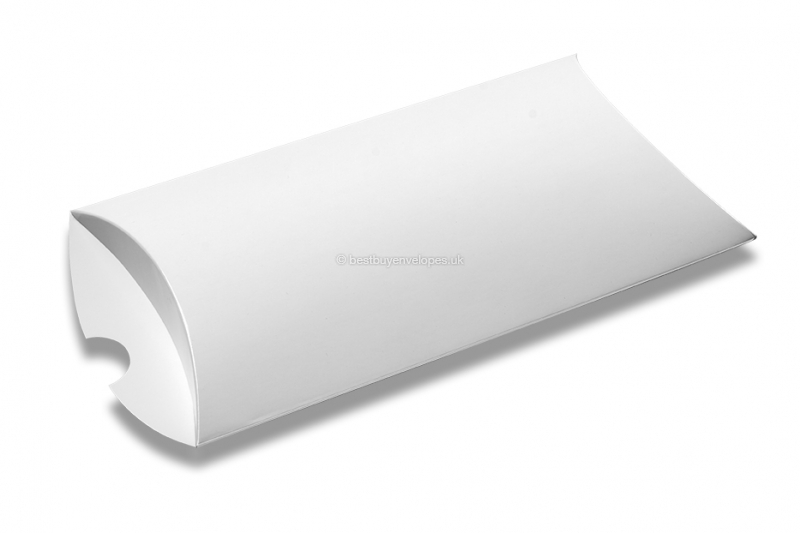 pillow boxes white without window